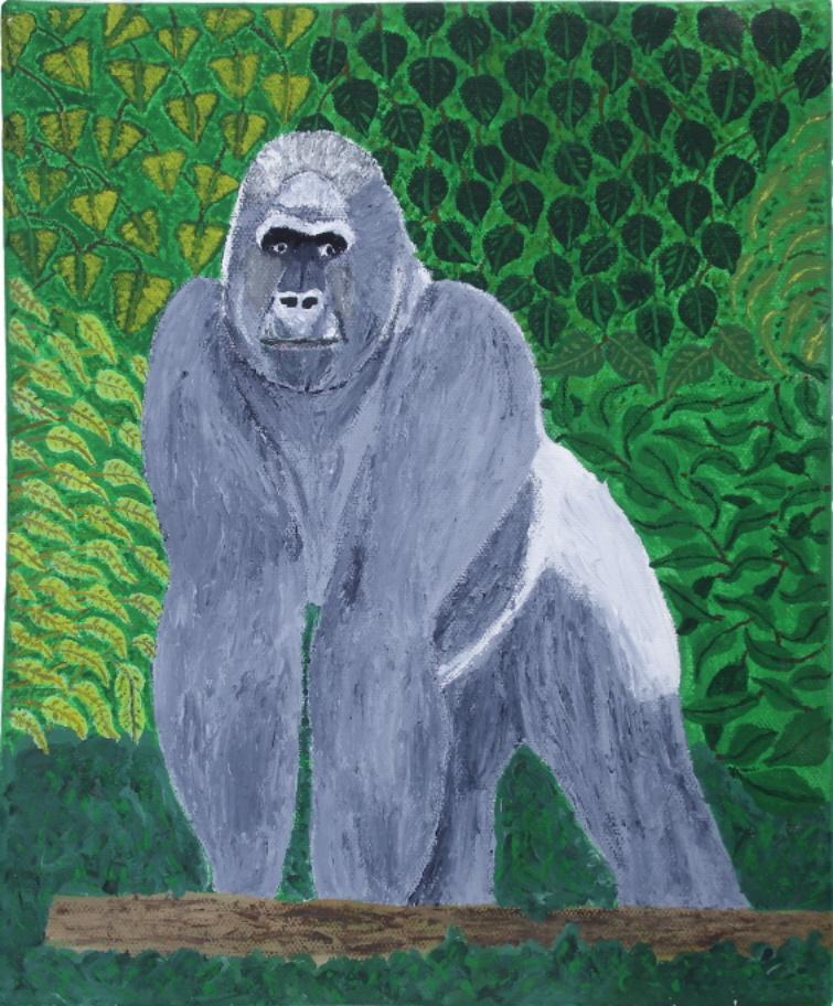 Gorilla von Georg Rönnau